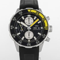 IWC Aquatimer Chronograph Acero 44mm Negro España, Madrid