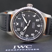 IWC Fliegeruhr Mark Stahl 40mm Schwarz Arabisch Deutschland, München