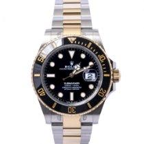 Rolex Submariner Date Gold/Steel 41mm Black