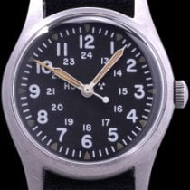 Hamilton Steel 33mm Manual winding MIL-W-46374B pre-owned United States of America, California, Los Angeles