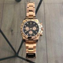 Rolex Daytona Oro rosa 40mm Negro Sin cifras España