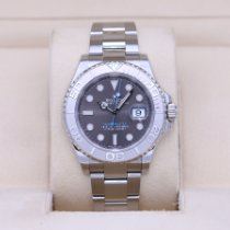Rolex Steel Automatic Grey No numerals 40mm pre-owned Yacht-Master 40