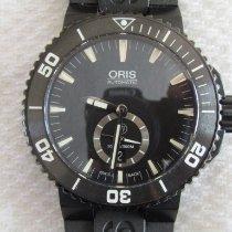 Oris Titanium Automatic Black No numerals 46mm pre-owned Aquis Titan