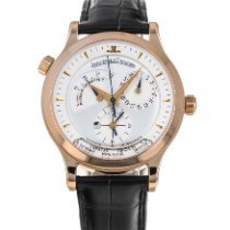 Jaeger-LeCoultre Master Geographic Rose gold 38mm Silver No numerals United States of America, Maryland, Baltimore, MD