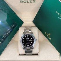 Rolex Explorer Steel 36mm Black Arabic numerals United States of America, California, Los Angeles