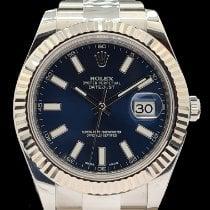 Rolex Datejust II Acier 41mm Bleu Sans chiffres Belgique, bruxelles
