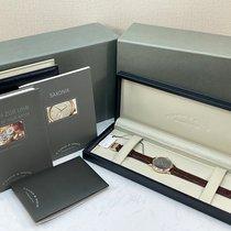 아랑게운트죄네 삭소니아 215.033 매우 우수 핑크골드 37mm 수동감기