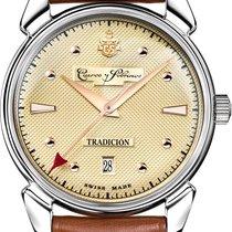 Cuervo y Sobrinos Женские часы Historiador 40mm Автоподзавод новые Часы с оригинальными документами и коробкой 2021
