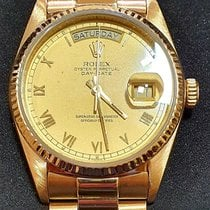 Rolex Yellow gold 36mm Automatic 18038 pre-owned India, Bangalore Urban