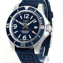 Breitling Superocean II 42 Staal 42mm Blauw