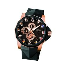 Corum Admiral's Cup (submodel) Rose gold 48mm Brown Arabic numerals