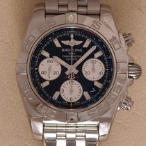 Breitling Chronomat 41 Staal 41mm Zwart Geen cijfers Nederland, Amstelveen