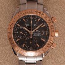 Omega Speedmaster Date tweedehands 40mm Zwart Chronograaf Datum Staal