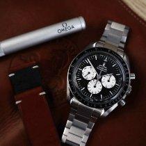 Omega Speedmaster Professional Moonwatch Acier 42mm Noir Sans chiffres