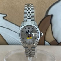 Rolex Oyster Perpetual Lady Date Aço 26mm