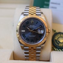 Rolex Datejust II Gold/Stahl 41mm Grau Schweiz, Geneva
