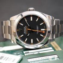 Rolex Milgauss Acciaio 40mm Nero Senza numeri Italia, BOLOGNA