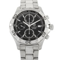 TAG Heuer Aquaracer 300M pre-owned 41mm Black Chronograph Date Steel