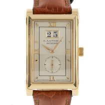 A. Lange & Söhne Cabaret Yellow gold 36mm Silver