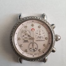 Michele CSX Steel 36mm Mother of pearl No numerals