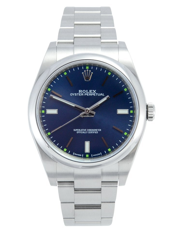Rolex Oyster Perpetual 39 114300 2018 pre-owned