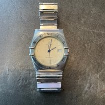 Omega Constellation Day-Date Gold/Steel 32mm Gold Roman numerals United Kingdom, Chatham