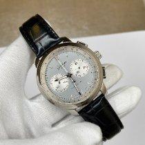 Glashütte Original Senator Chronograph XL Stahl 44mm Silber