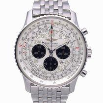 Breitling Navitimer Cosmonaute Steel 40mm White Arabic numerals