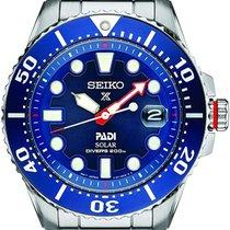 Seiko Prospex Steel 43.50mm Blue No numerals United States of America, Massachusetts, Boston