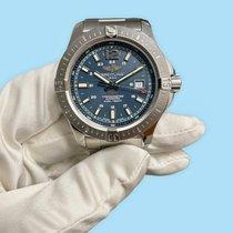 Breitling Chronomat Colt подержанные 44mm Синий Дата Сталь