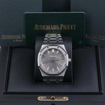Audemars Piguet Royal Oak Steel 41mm Grey No numerals United States of America, California, Los Angeles