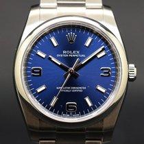 Rolex Oyster Perpetual 34 Acero 34mm Azul Arábigos España, Barcelona