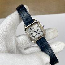 Cartier Santos Dumont Сталь 38mm Cеребро Римские