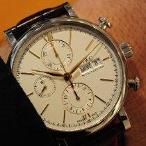 IWC Portofino Chronograph nou 2016 Atomat Cronograf Ceas cu cutie originală și documente originale IW391022