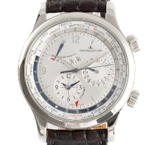 Jaeger-LeCoultre Master World Geographic Acero 41.5mm Plata