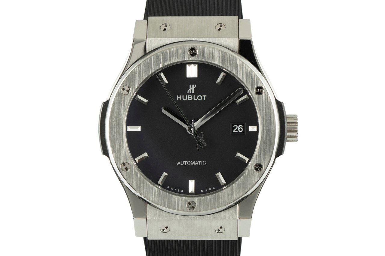 Hublot Classic Fusion 45, 42, 38, 33 mm 542.NX.1171.RX 2018 pre-owned