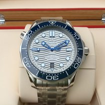 Omega Seamaster Diver 300 M new 2021 Automatic Watch with original box and original papers 210.30.42.20.06.001