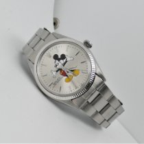 Rolex Oyster Perpetual 34 Acero 34mm Gris Sin cifras