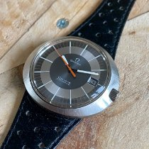 Omega Genève Steel 41mm Silver No numerals