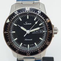 Sinn 104 Steel 41mm Black No numerals United States of America, Texas, Houston