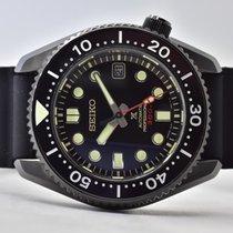 Seiko Marinemaster Stahl 44,3mm Schwarz Keine Ziffern