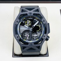 Hublot Techframe Ferrari Tourbillon Chronograph Carbono Negro