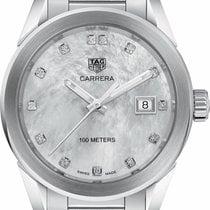 TAG Heuer Carrera Lady new Quartz Watch with original box and original papers WBG1312.BA0758