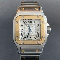 Cartier Santos Galbée Gold/Steel 24mm Silver Roman numerals United States of America, Tennesse, Nashville