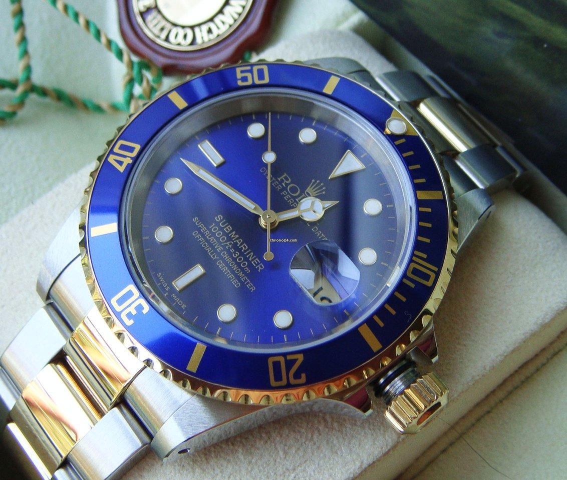 Rolex Submariner Date 16613 Sultan 2001 gebraucht
