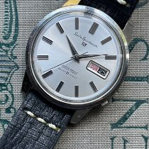 Seiko 5 Sports Steel 36mm Silver No numerals United States of America, Ohio, Yellow Springs