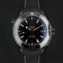 Omega Ceramic Automatic Black Arabic numerals 45.5mm new Seamaster Planet Ocean