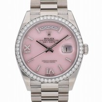 Rolex 128349RBR Or blanc Day-Date 36 36mm nouveau
