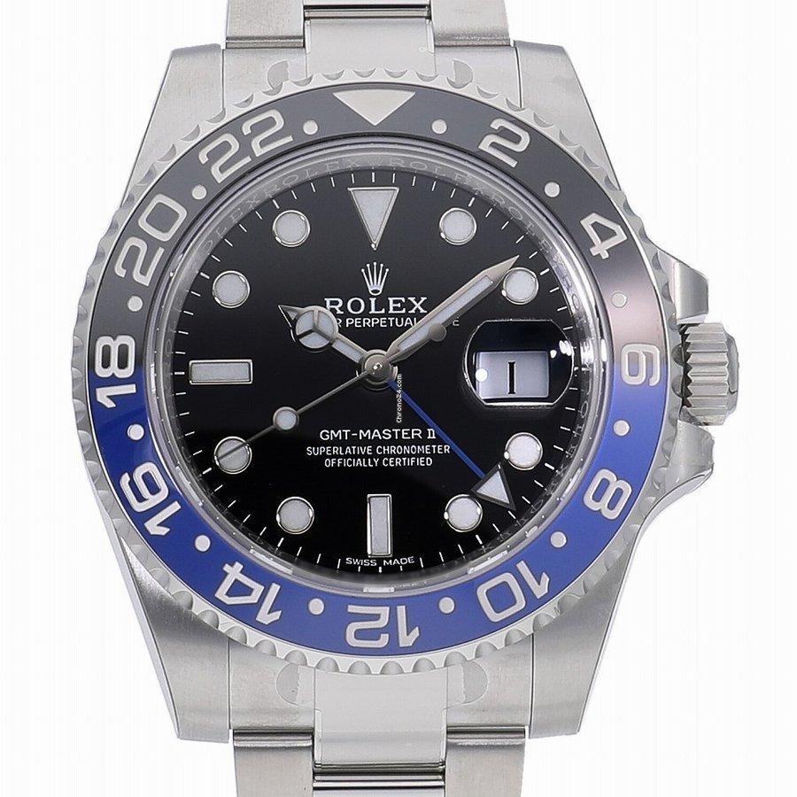 Rolex (ロレックス) GMT マスター II 116710BLNR 新品