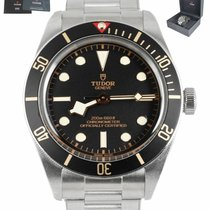 Tudor pre-owned Automatic 39mm Black Sapphire crystal